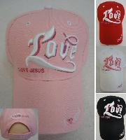 LOVE Hat [I Love Jesus]